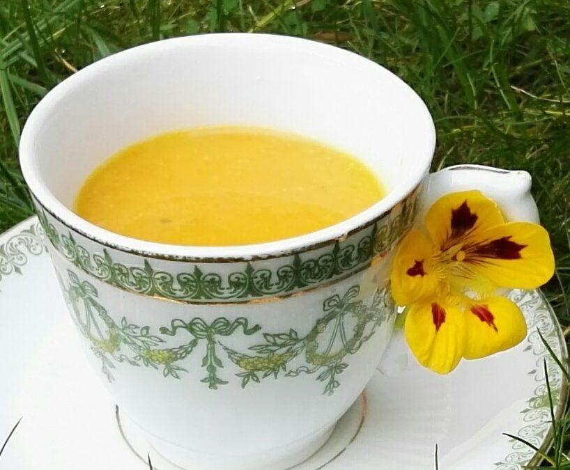 Geneeskrachtige Wortel Kokos Kurkuma Soep
