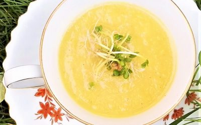 Peer pastinaak soep, gezond en verwarmend