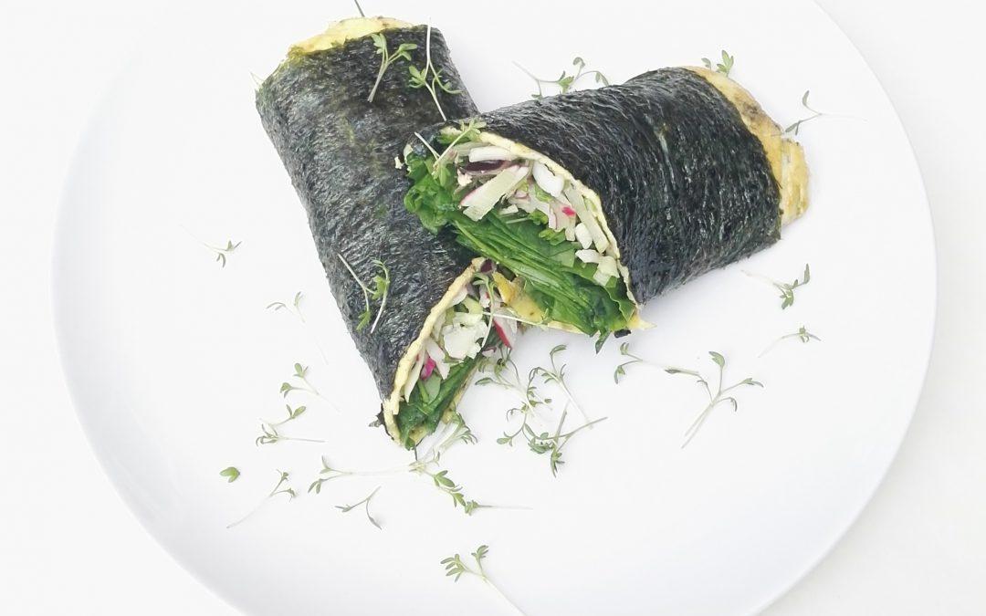 Nori omelet | lunchen met voldoende jodium
